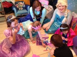 Elsa Anna visit